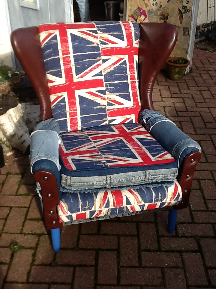 Chair Union Jack