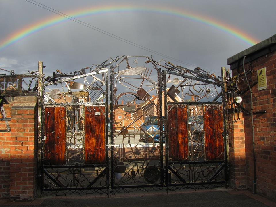 Rum Runner Gates rainbow